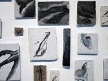 o-herbier-3me-partie-1000-pices-de-toiles-sur-carton-plume-technique-mixte-dtail-2011